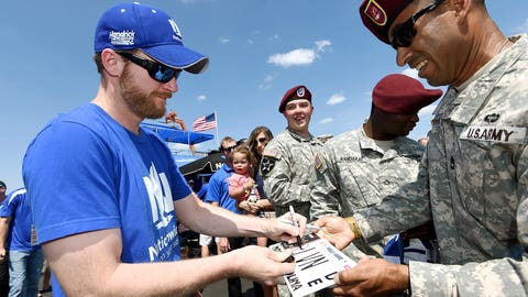 Photos: Charlotte Motor Speedway honors Memorial Day with large military tribute