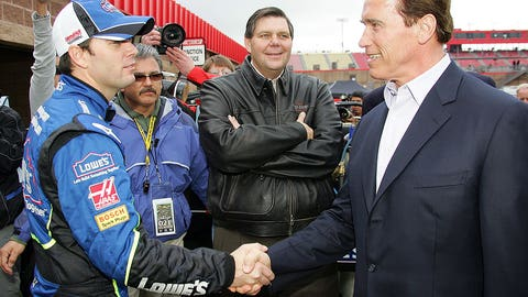 Celebrities and NASCAR