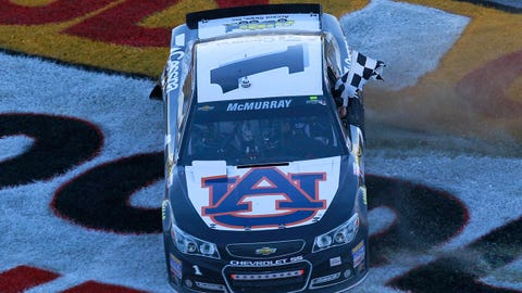 Jamie McMurray: Auburn University
