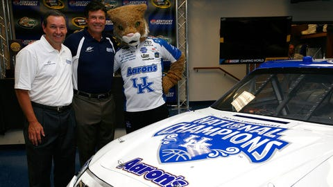 Michael Waltrip: University of Kentucky