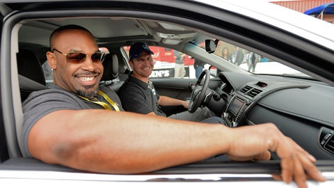 Where NASCAR and the NFL have intersected through the years