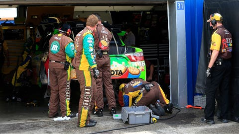 7. Kyle Busch's Chase hopes staggered