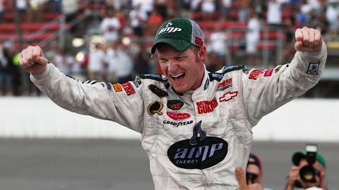 First points win for Hendrick Motorsports