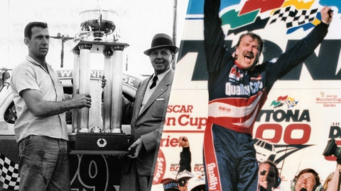 Ned and Dale Jarrett, 82 victories