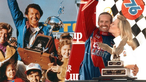 Richard and Kyle Petty, 208 victories
