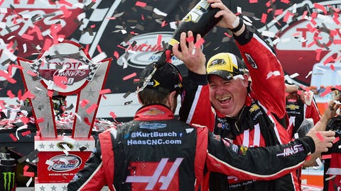 Kurt Busch overcomes suspension to win two races