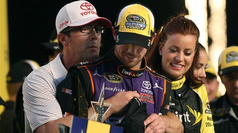 Denny Hamlin delivers JGR's first all-star win