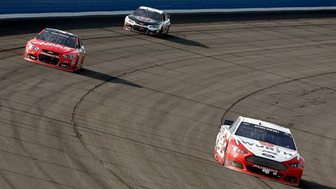 Brad Keselowski's late-race charge in Fontana