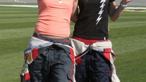 Hannah Teter and Gretchen Bleiler