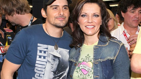 Brad Paisley and Martina McBride