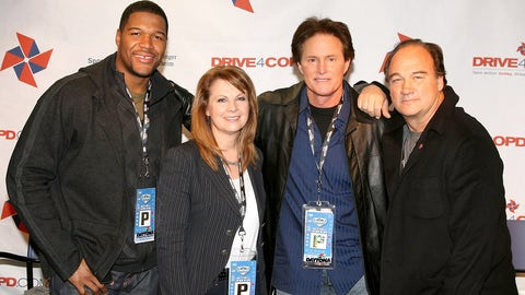Michael Strahan, Patty Loveless, Bruce Jenner and Jim Belushi