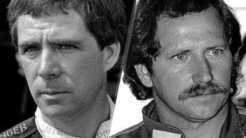 Darrell Waltrip and Dale Earnhardt