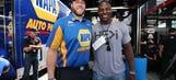 Athletic bond: Gasman, NFL player remain teammates forever