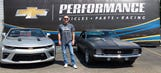 Harvick breaks out the '69 Camaro for Woodward Dream Cruise