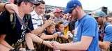 Dale Jr. touched by special gift from fan at Michigan