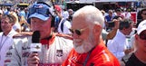 Nearly unrecognizable Letterman talks retirement at IndyCar finale