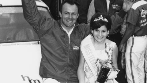 NASCAR trophy girls through the years
