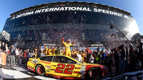 Joey Logano, Daytona 500, Daytona International Speedway