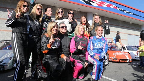 """Entry list for the """"Better Half Dash"""" at Charlotte Motor Speedway"""