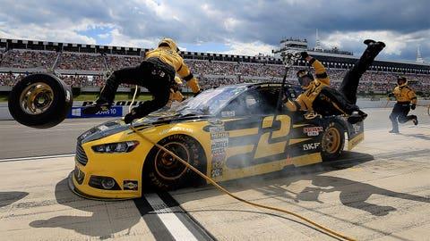 Photos: Brad Keselowski's 2015 NASCAR Sprint Cup season to date