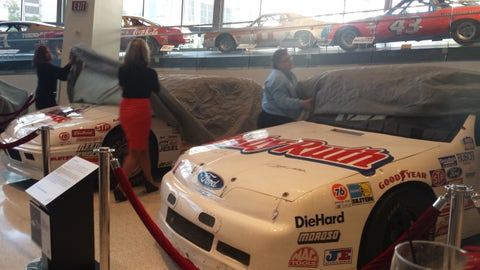 '24: A Tribute to Jeff Gordon' NASCAR Hall of Fame exhibit unveiling