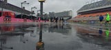 Sights & Sounds: A soggy start to race day at Charlotte Motor Speedway
