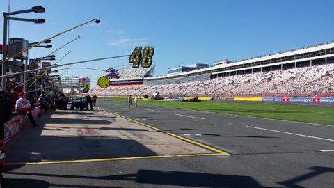 Sights & Sounds: Sunday NASCAR matinee at Charlotte Motor Speedway