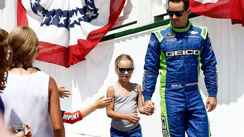 Baby boom: Meet the kids of Sprint Cup Series drivers