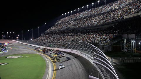 5. The July Daytona race is going back to Saturday night