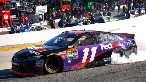 Haulin' the mail: Denny Hamlin's 2015 Sprint Cup Series paint schemes
