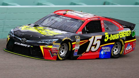 Clint's colors: The paint schemes of Bowyer's No. 15 in '15