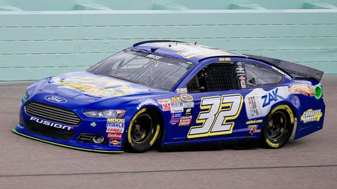 The No. 32's many 2015 Sprint Cup paint schemes