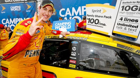 7. Joey Logano, 14 career victories