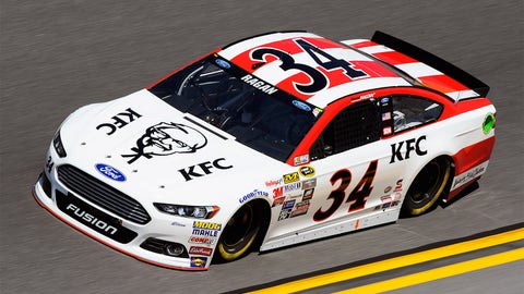 Moffitt and more: The No. 34's 2015 Sprint Cup paint schemes
