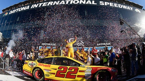 Joey Logano's Daytona 500 win