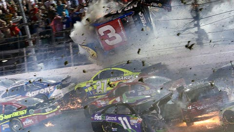 Austin Dillon's Daytona wreck