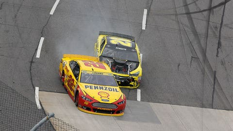 Matt Kenseth's temper