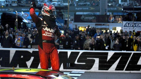 Jeff Gordon went out in style