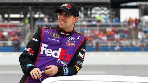 1 (tie). Denny Hamlin, 26 career victories