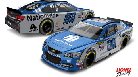 New digs: Hendrick Motorsports' 2016 Sprint Cup paint schemes