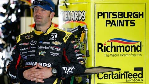 Paul Menard, Kansas Speedway