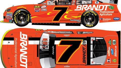 2016 JR Motorsports paint schemes