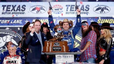 3. Duck Commander 500, Texas Motor Speedway, $523,501