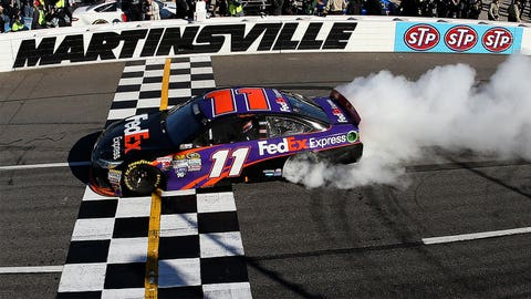 It's delivery time ... on every one of Denny Hamlin's race wins