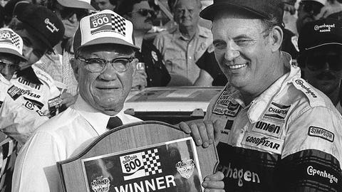 Remembering the career of NASCAR champion Benny Parsons