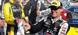 Happy days: Kevin Harvick's 31 career Sprint Cup Series victories