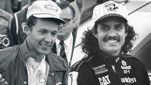 Father-son Daytona 500 pole winners