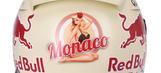 Sebastian Vettel's Monaco GP Helmet Has A Nearly Naked Pinup Girl