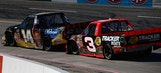 GIF It Up: Flying Sledgehammers & Finger Pointing In Martinsville