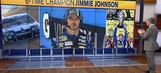 """Jimmie Johnson On FOX Sports Live: McNabb's Opinion """"Uneducated"""""""